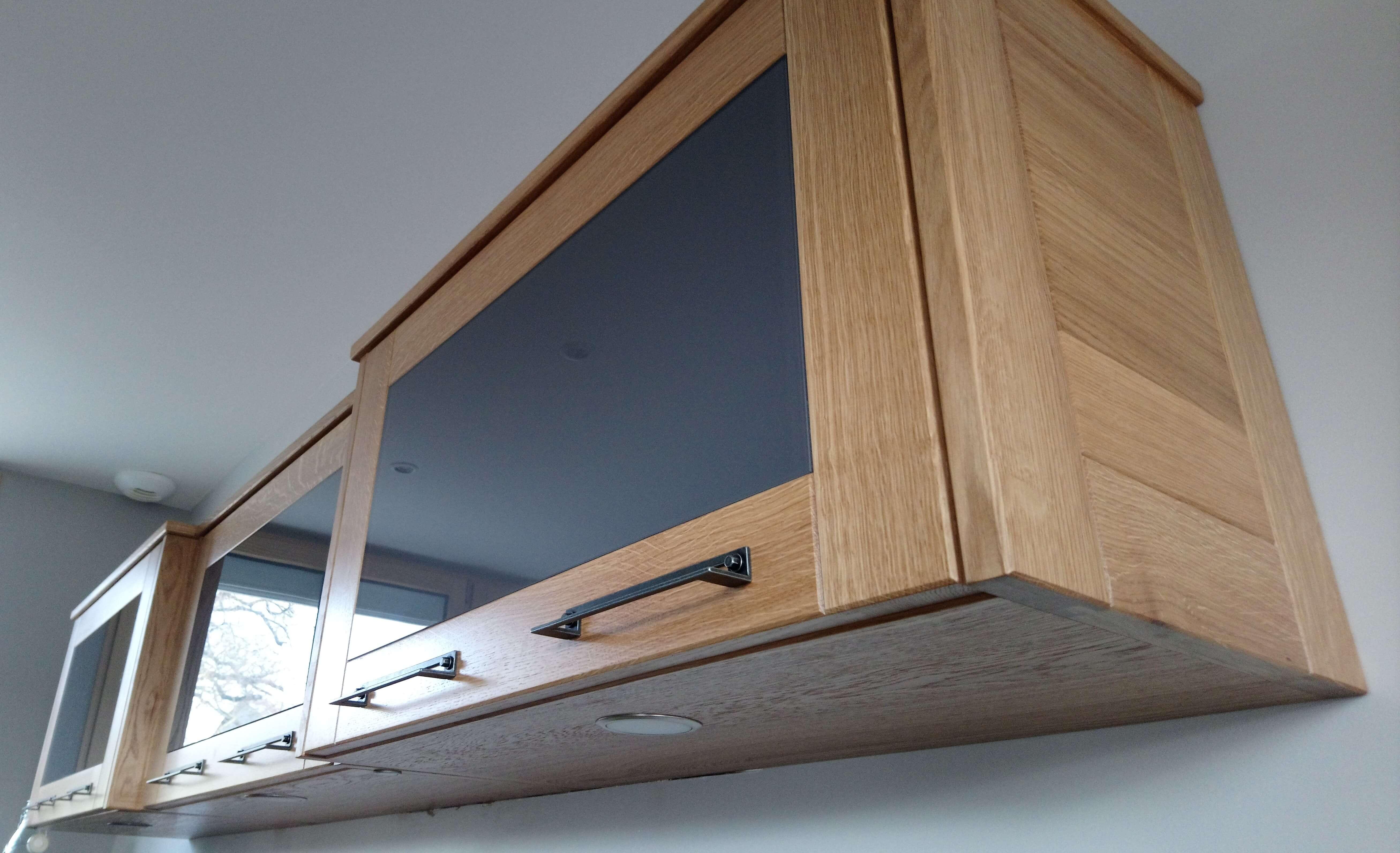 Menuiserie Figard - Fabrication sur mesure - Cuisine - Chêne verre laqué - Vesoul