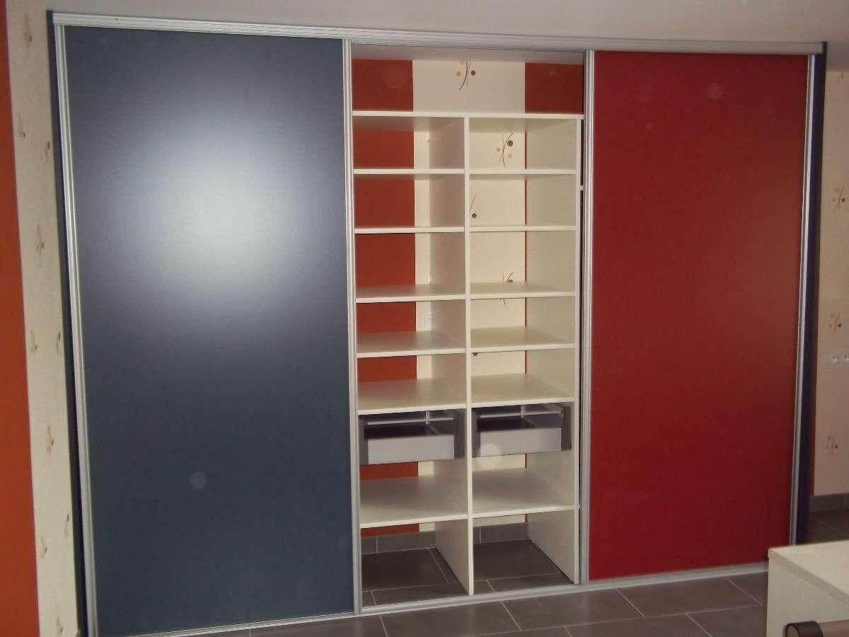 Menuiserie Figard - Fabrication sur mesure - Porte coulissante - Dressing - Mélaminé - Vesoul