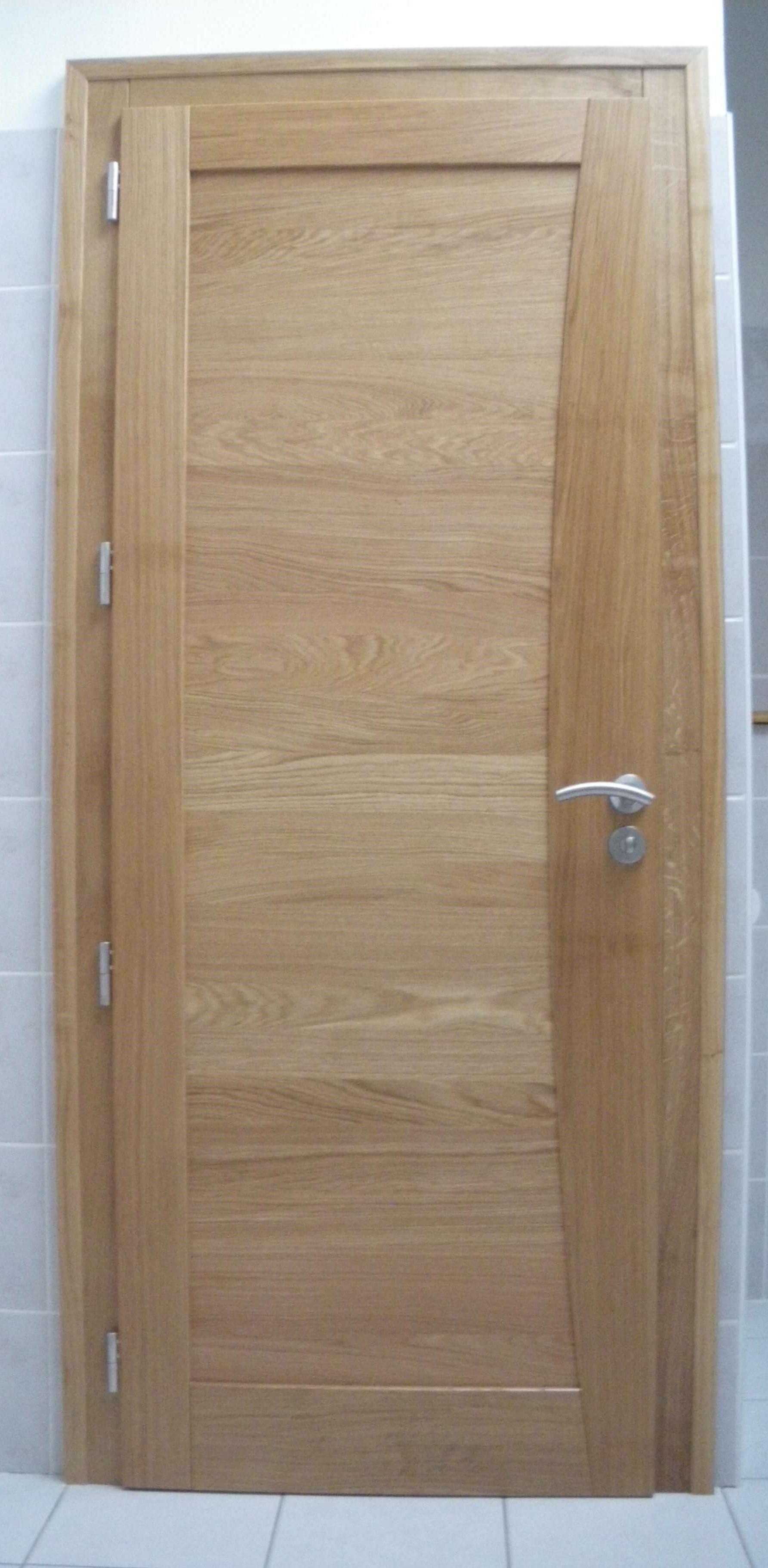 Menuiserie Figard - Fabrication sur mesure - Porte d'intérieur - Chêne - Vesoul