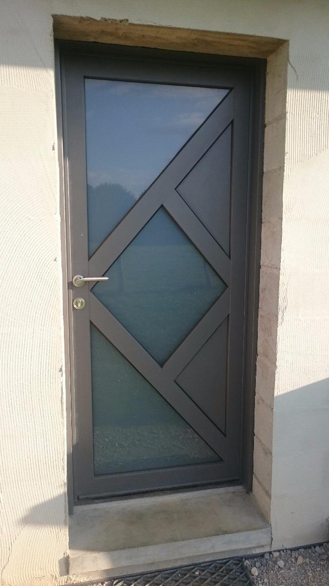 Menuiserie Figard - Fabrication sur mesure - Porte d'entrée - Bois-alu - Vesoul